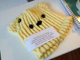 Winnie the Pooh Baby Hat by ShellMinded