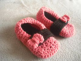Little Girl's Punk Slippers by krizpie