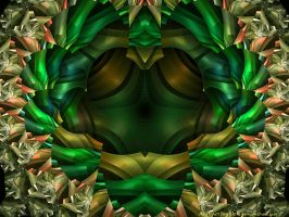 Abstract Jungle by Alterren