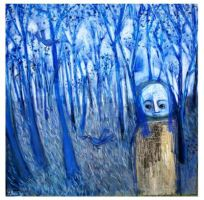 in the blue forest by glenox66