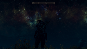 Skyrim Celestial Night Sky by Wigglesx