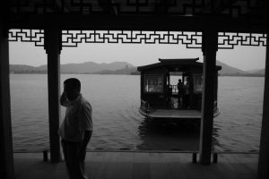 A Dock in the West Lake by lackar