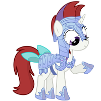 Moondancer Vector -Crystal Pony Armor by Anxet