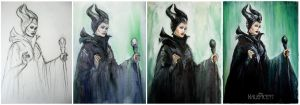 Maleficent WIP by MeduZZa13