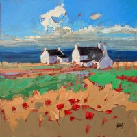 Watternish Crofts by NaismithArt
