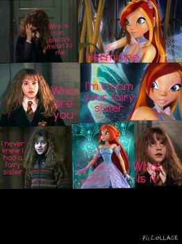 Page 1 of hermiones magical secret by fairiesfly152