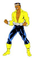 Luke Cage color by Arthammer