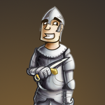 Surprised Knight by prall