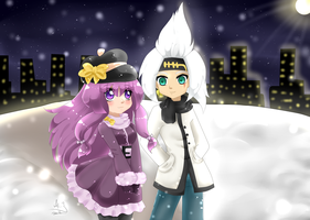 .:Snowing Date:. by Anini-Chu