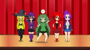 Chibified Varia Girls by PowerOfSky
