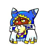 Cute magolor with colors by Kirbycutieslove76