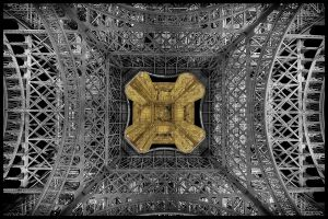 Paris - Eiffel Tower 01 - From Below by GiardQatar
