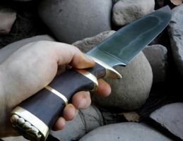 Bowie knife 2 by HellfireForge