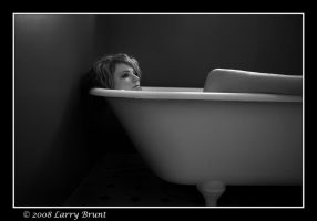 Woman in Tub 2 by inessentialstuff
