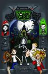 "Zombie Girl Book Cover ""New"" by Gummibearboy"
