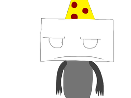 Evil Blam Looks Grumpy! by Iloveminecraft55