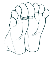 Feet Animation by wtfeather