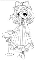 Annabelle the Cafe Visitor by YamPuff