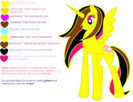 Princess Yellow Night Rainbow Dash-Do Steal! by Barry-Rose