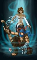 prince n elika, bluish version by animot