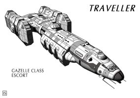 Traveller: Gazelle by biomass