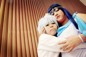 No. 6: Shion and Eve 2 by HRecycleBin