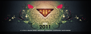 Portfolio Cover 2011 by VisualFour