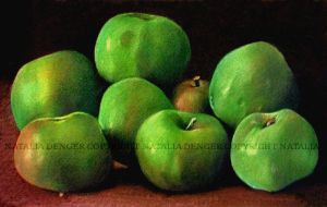 Green Apples by Acacia13