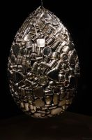 Subodh Gupta Egg by JaredWingate