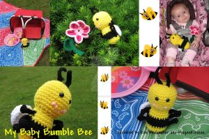 Baby Bumble Bee by DragonKissses