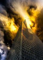 The Tower of Babel by JaggedTech