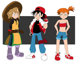 Trainers Cosplay by AnTyep