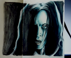 Selene from Underworld 2 by specialneeds0468