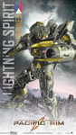 Pacific Rim Jaeger: The Lightning Spirit 2 by mavsfan4life