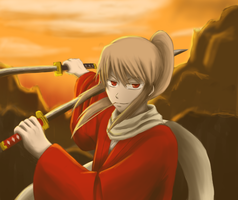 Older Sougo Okita by Reirei-Kou