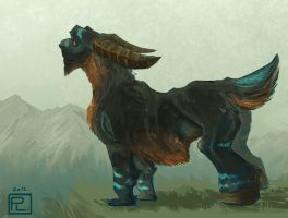 Goat Creature by Eliket