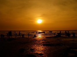 A Thai Sunset by digitalus