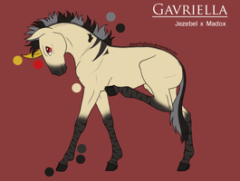 Gavriella Reference by LugiaAngel
