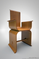 Wooden Chair by APgraph