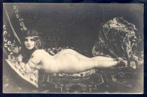 Antique Nude 1 by HauntingVisionsStock