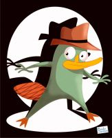 Perry the Platypus by Captain-Paulo