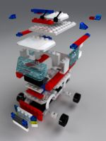 Lego 7890 Bricks by Zortje