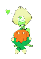 Peri and Pumpkin Dog (Gem Harvest) by MrChaseComix