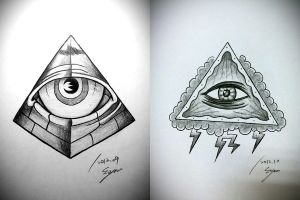 All seeing eye by Eason41