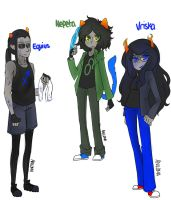Equius Nepeta and Vriska -edit- by Aniloma