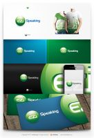 eziSpeaking logo by eLdIn94