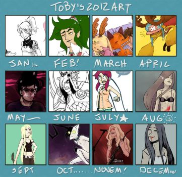 2012 Art Summary by erstwhile-sho