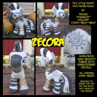 Zecora Plush by StudioNeko