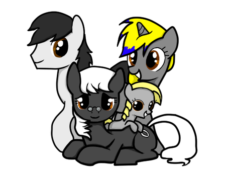 Grandmoonma Family Portrait by PenadoxBlackmoon by grandmoonma