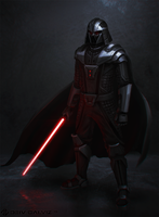 Darth Vader Redesign by DeivCalviz